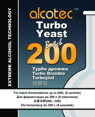 Дрожжи Alcotec Batch Turbo 200