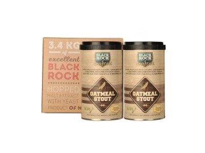 Cолодовый экстракт Black Rock Craft Outmeal Stout 3,4 кг